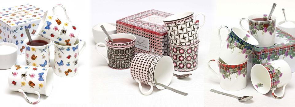 Heath McCabe China Mug Gift Sets
